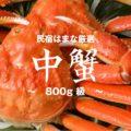 【中蟹】0.8キロ級の厳選松葉がにコース(1.5杯相当)